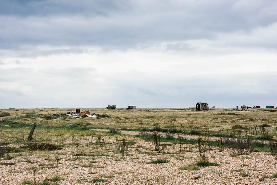 Derek Jarmans Garden Ness wasteland