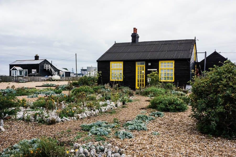 Derek Jarmans Garden front garden September