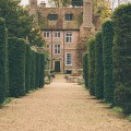 Groombridge Place Yew lined alley to house
