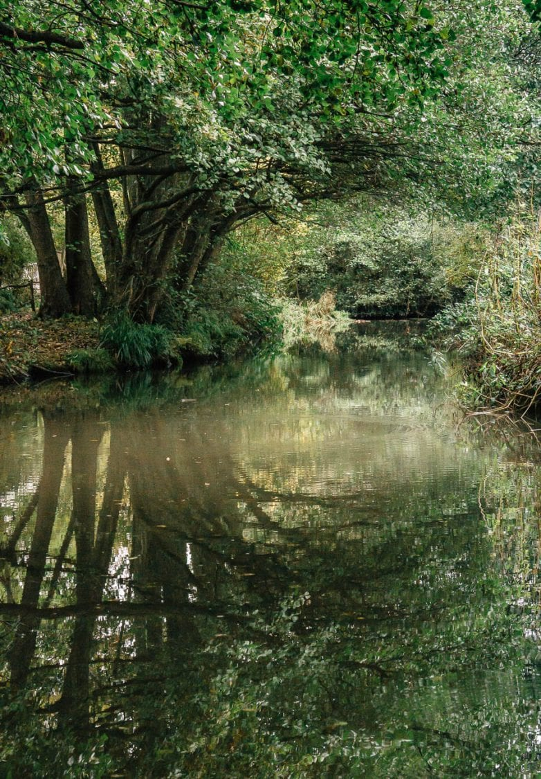 Groombridge Place reflection in canal