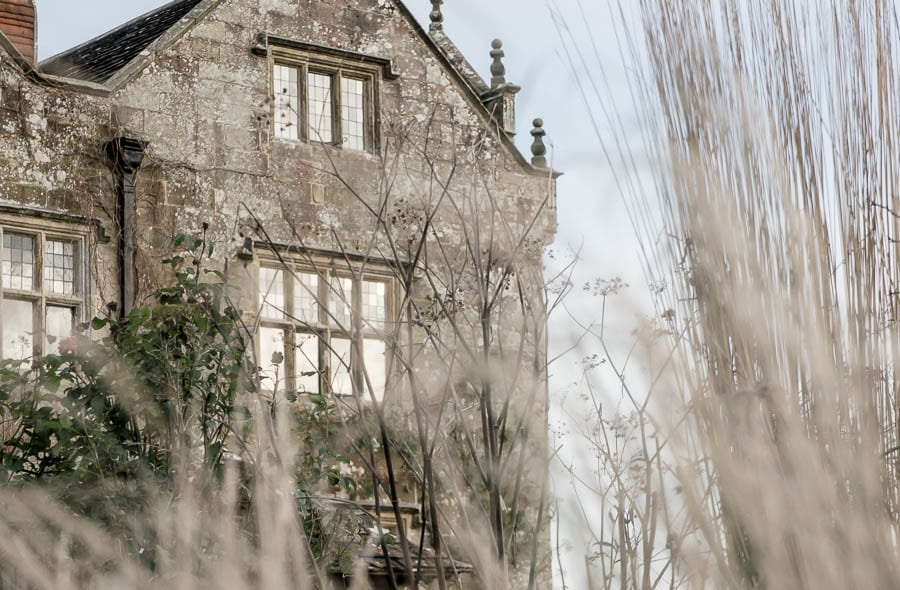 Christmas Wreath workshop Gravetye Manor and rushes