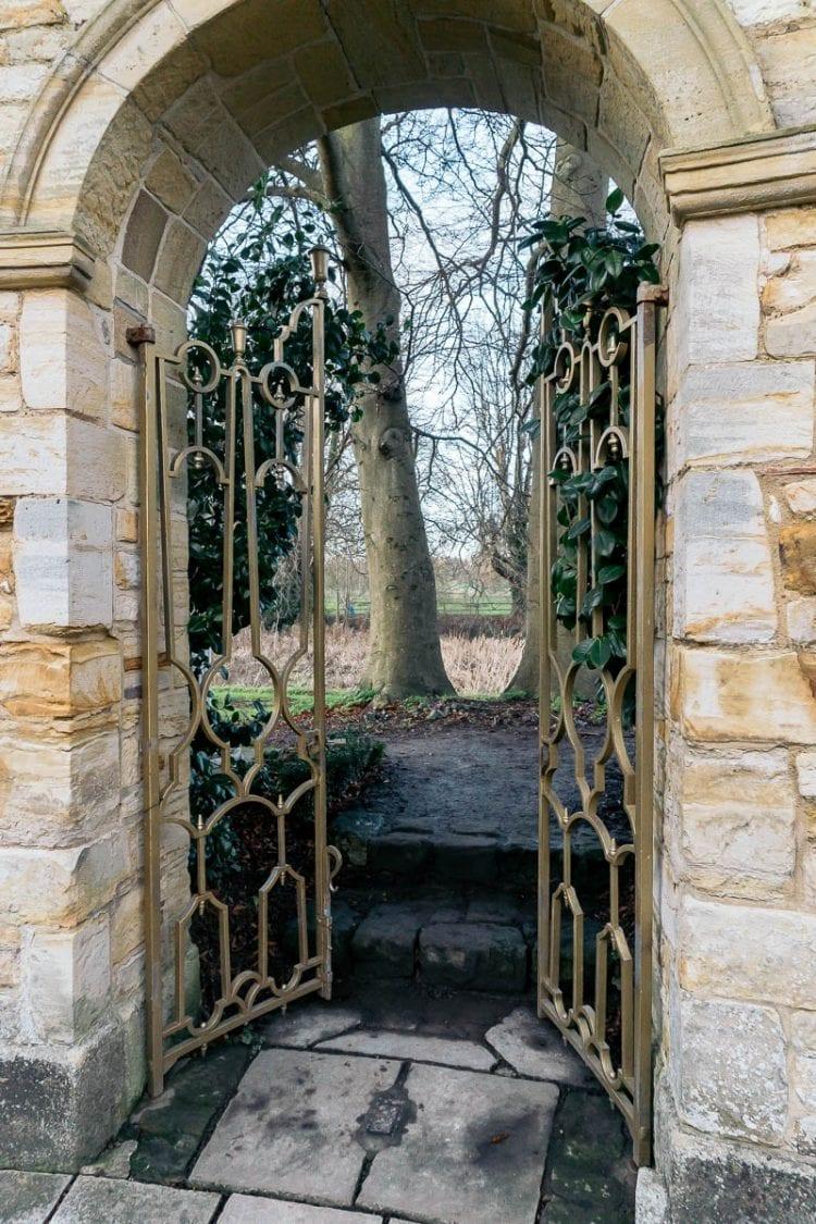 Hever Castle Italian Garden arch and gate