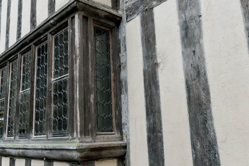 Hever Castle Tudor window