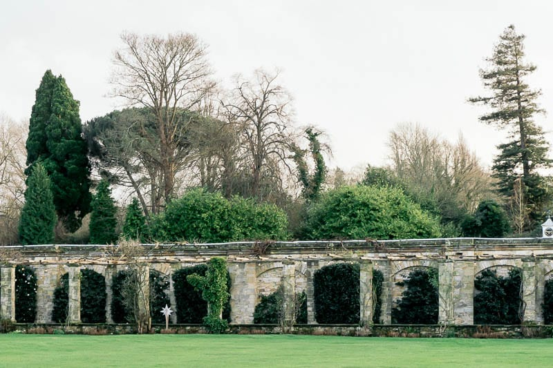 Hever Castle gardens esplanade