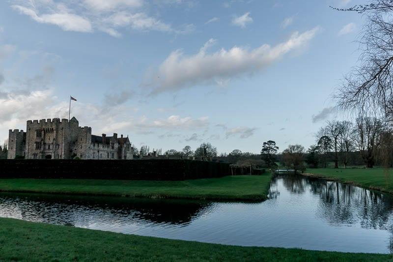 Hever Castle – a midwinter's tale