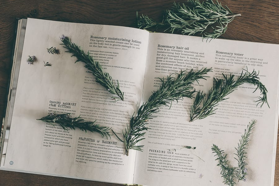 Gifts from the Garden rosemary recipes