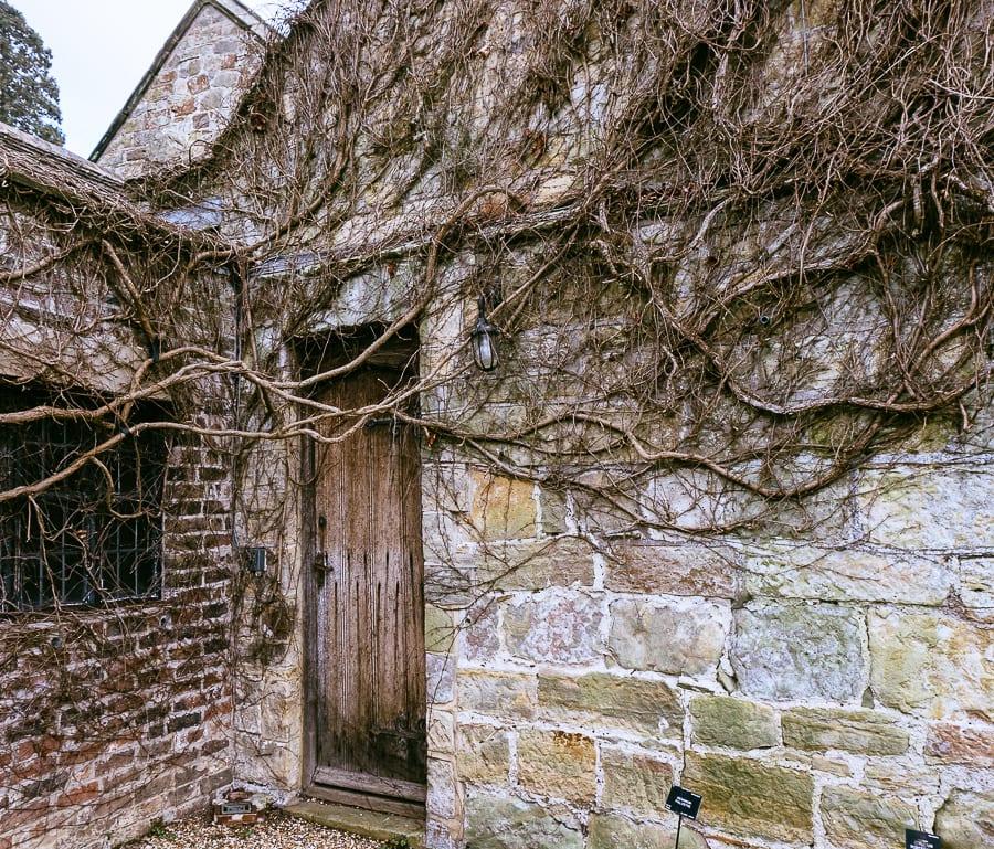 Wakehurst Walled garden door