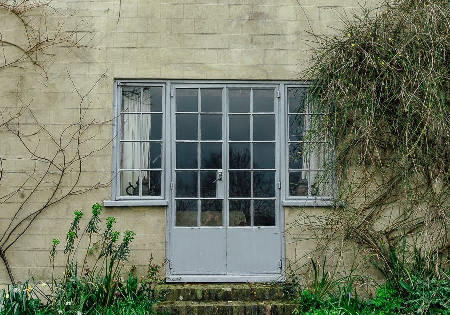 Charleston french window garden