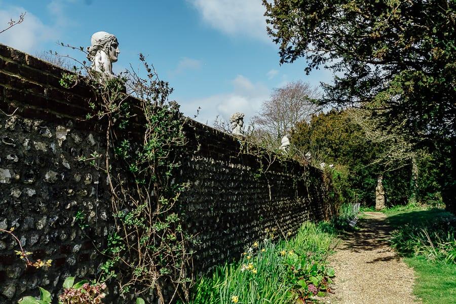 Charleston garden wall heads