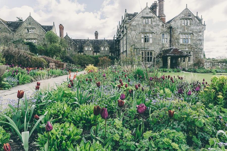 Tulip time Gravetye Manor Hotel