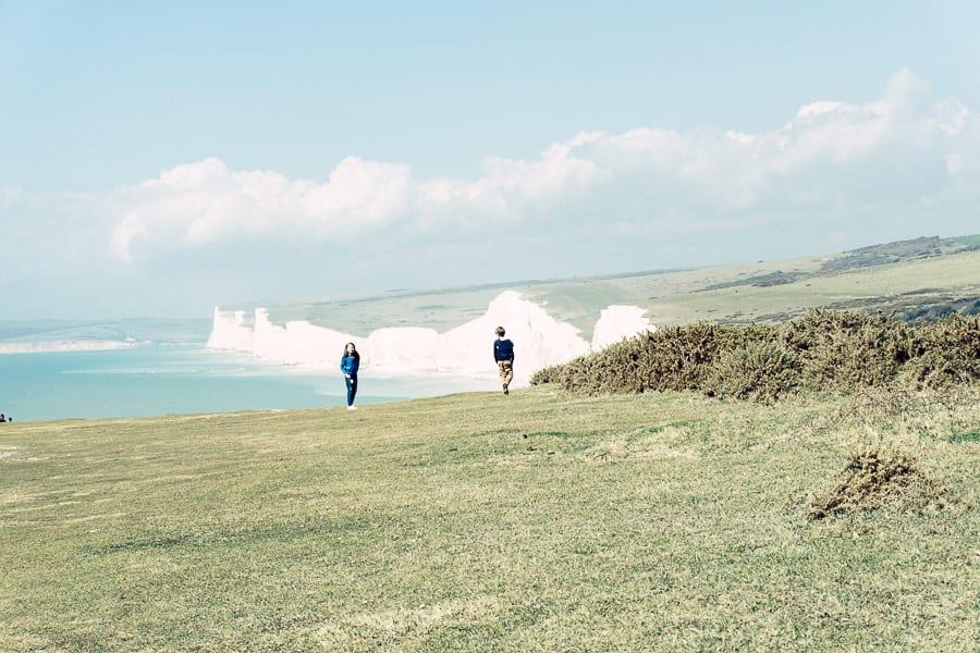 A coastal walk with a view