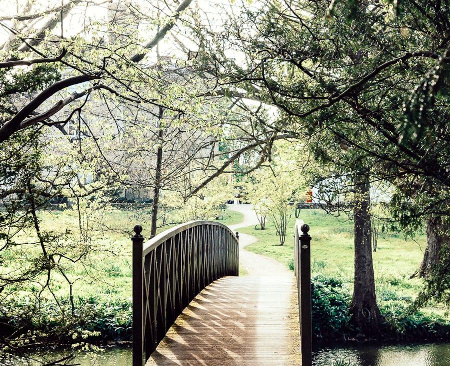 Chiddingstone Castle bridge