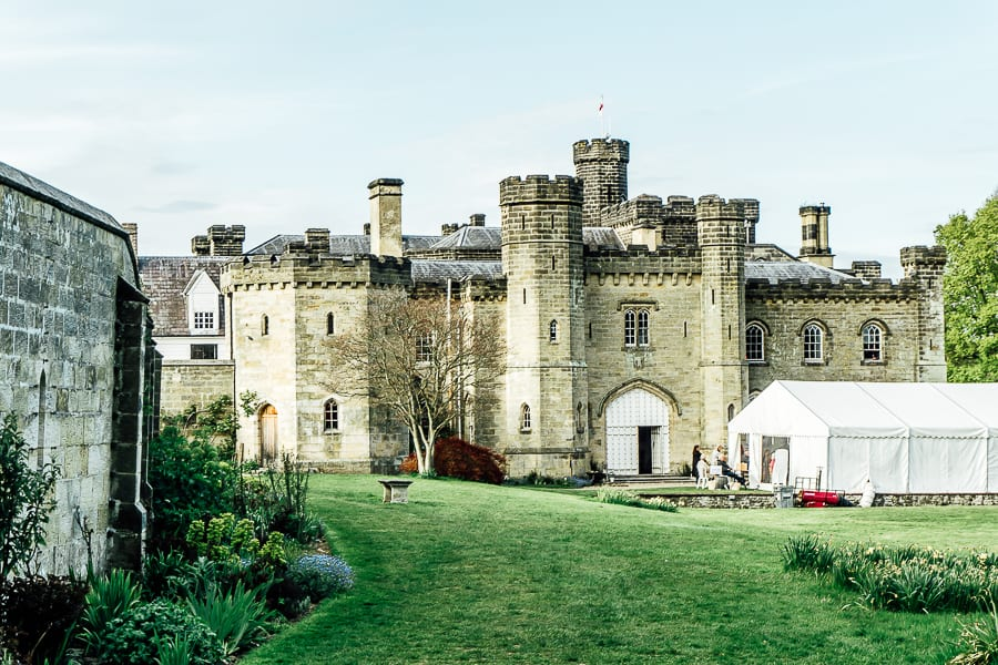 Chiddingstone Castle Literary festival tent