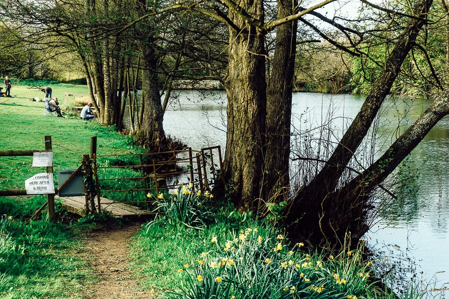 Chiddingstone Castle fishing