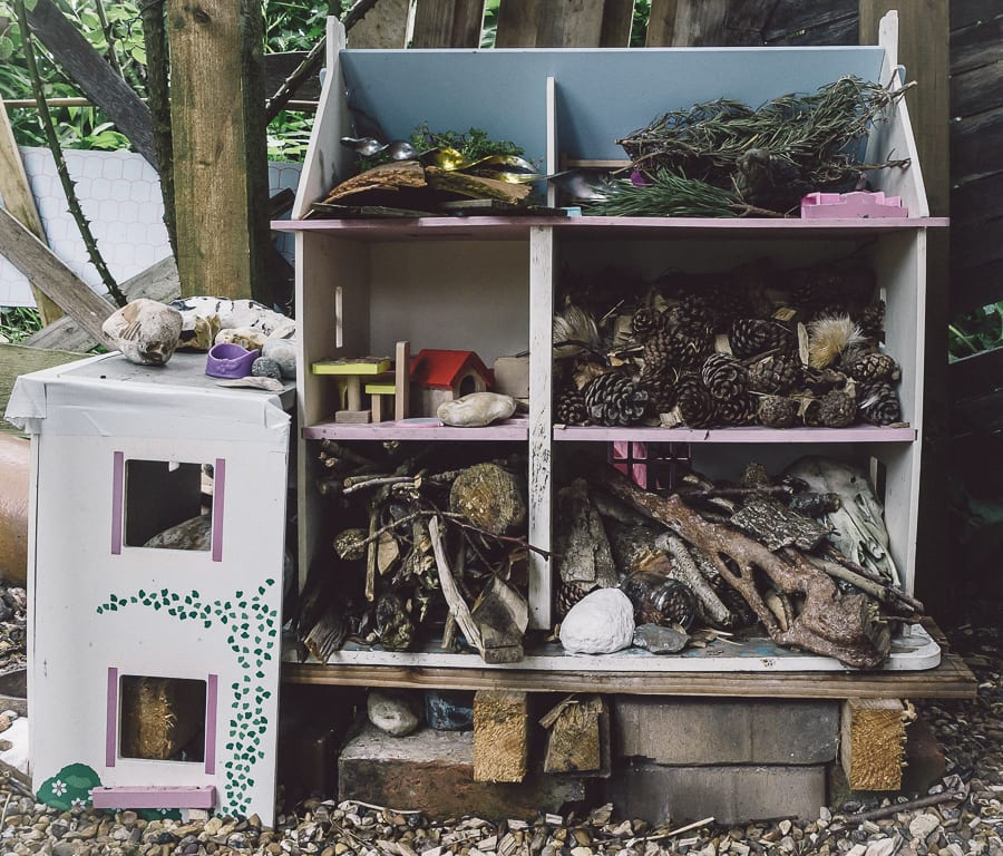 Dollhouse bug hotel