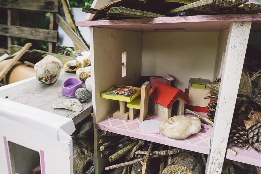 Dolls house bug hotel