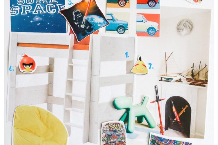 "How to make a boy's bedroom ""epic""? #GeorgeousRoomChallenge"