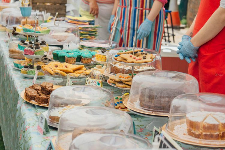 country fair cake sale