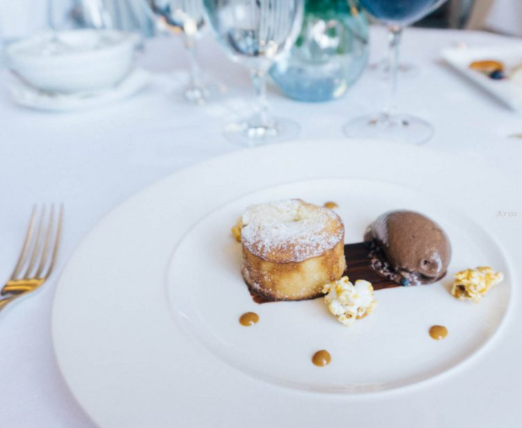 Gravetye manor dessert